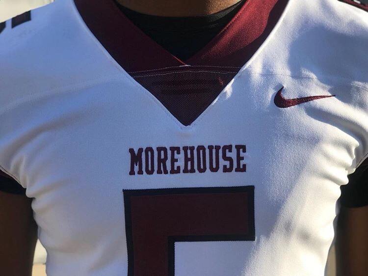 timeless design c90a9 33426 HBCU Uni Updates: Morehouse reveals Nike football Unis ...