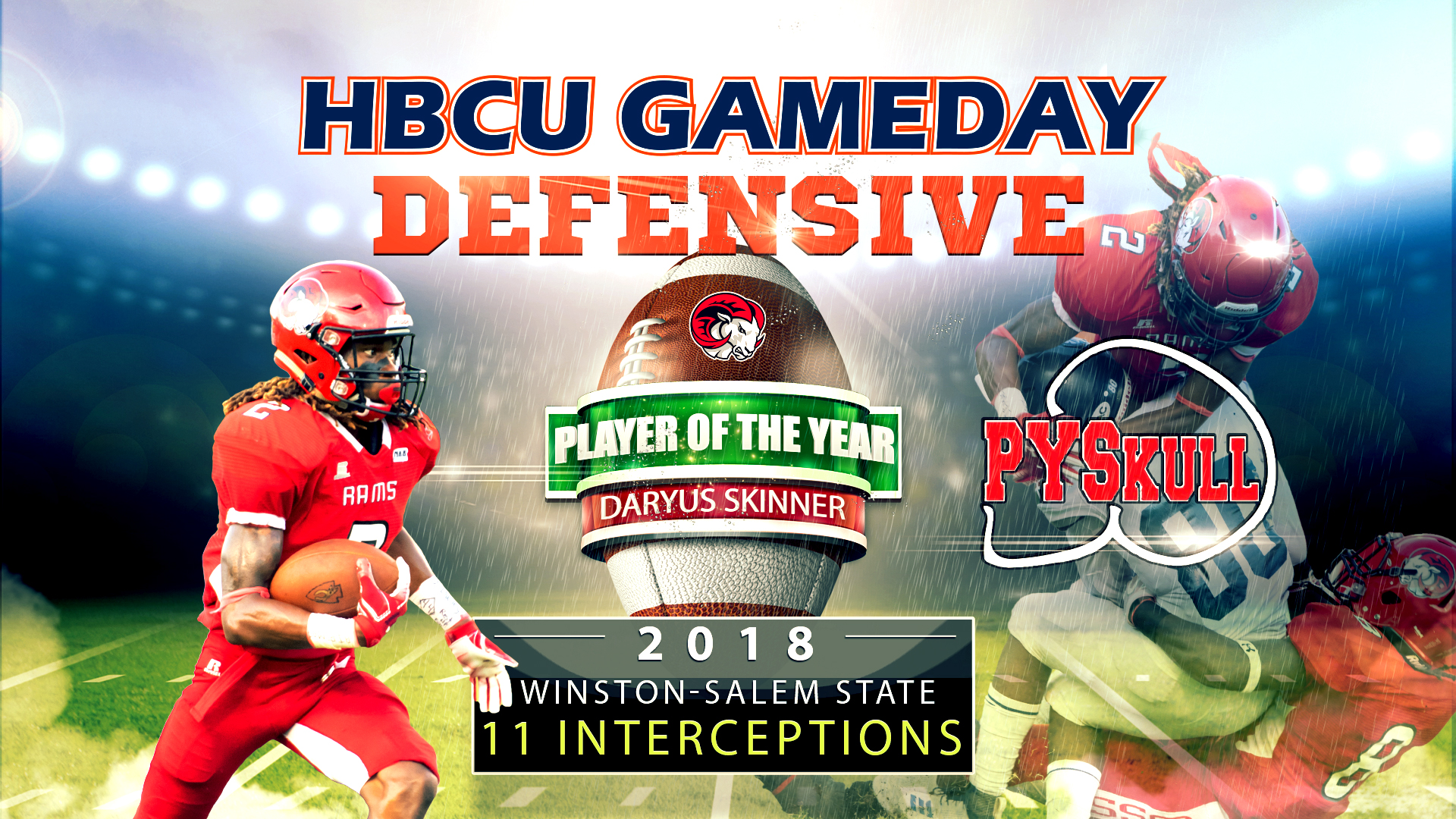 Hbcu Gameday Pys Defensive Player Of The Year 2018 Wssu S Daryus