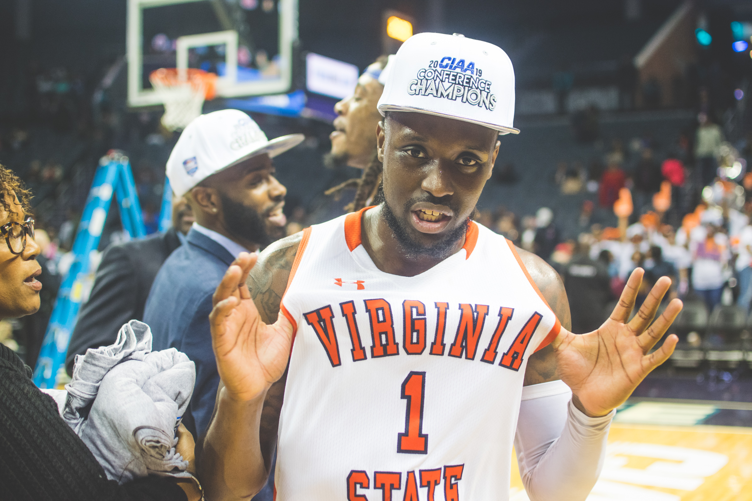 Virginia State CJ Wiggins