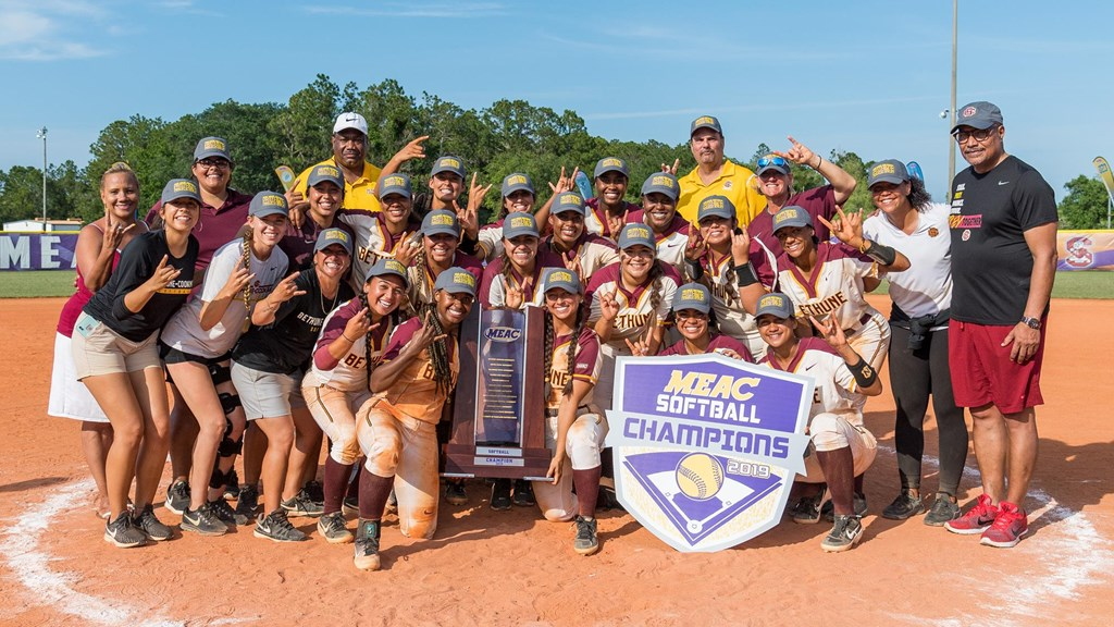 Bethune-Cookman Is Tops In MEAC Softball