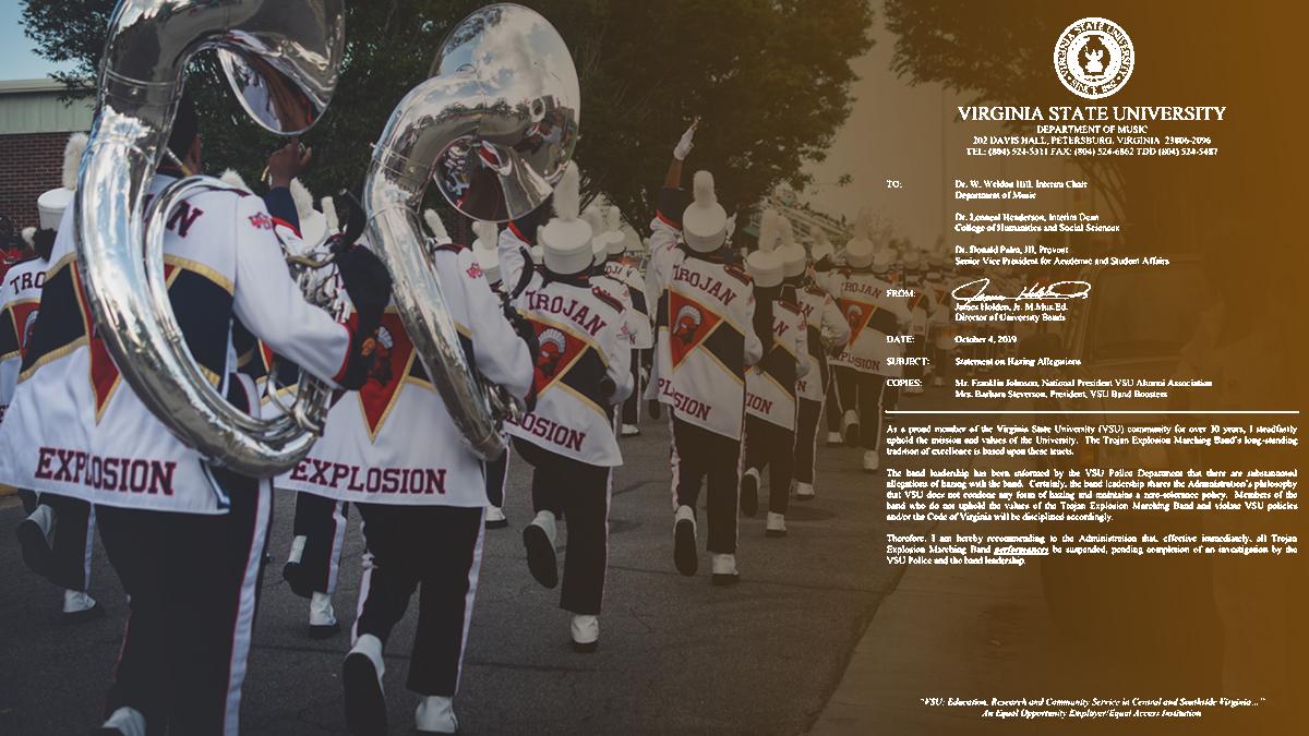 VSU Trojan Explosion band