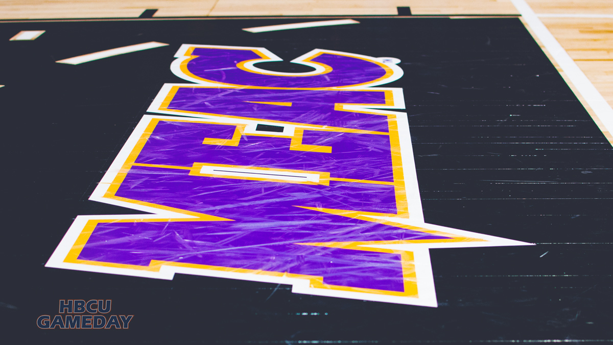 MEAC Basketball Court