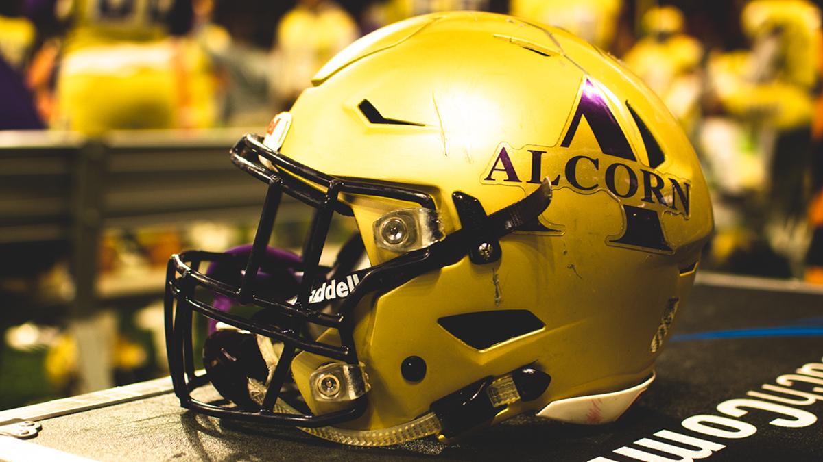 Alcorn State helmet