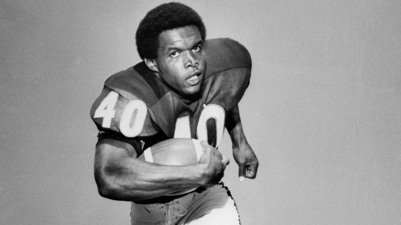 Gale Sayers pictured in his playing days served as the athletic director at Tennessee State for one season.