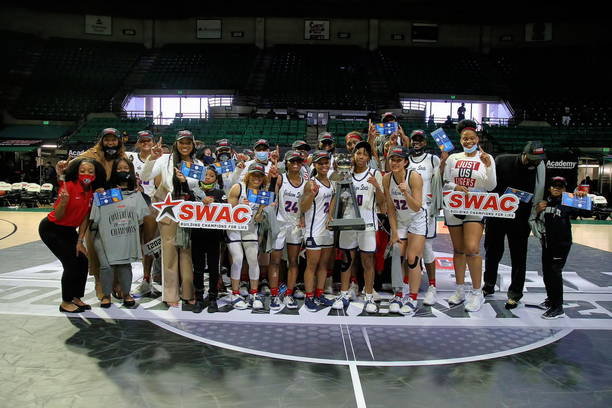 Jackson State wins 2021 SWAC Championship